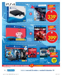 Catalogue Carrefour Belgique Noël 2019 page 74
