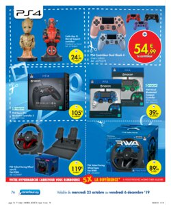 Catalogue Carrefour Belgique Noël 2019 page 76