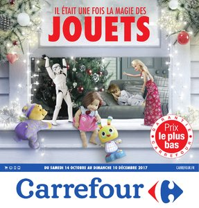 Catalogue Carrefour Noël 2017 page 1