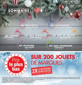 Catalogue Carrefour Noël 2017 page 2