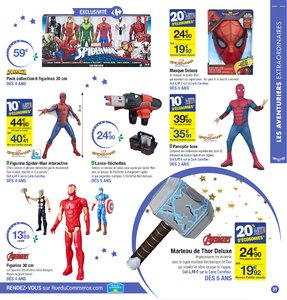 Catalogue Carrefour Noël 2017 page 31