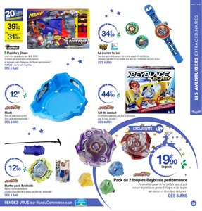 Catalogue Carrefour Noël 2017 page 33