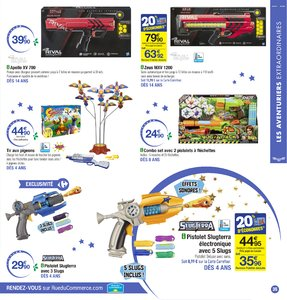 Catalogue Carrefour Noël 2017 page 35
