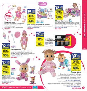 Catalogue Carrefour Noël 2017 page 61