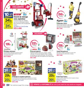 Catalogue Carrefour Noël 2017 page 64