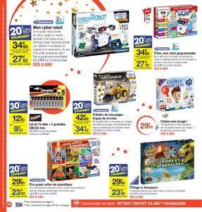Catalogue Carrefour Noël 2017 page 70