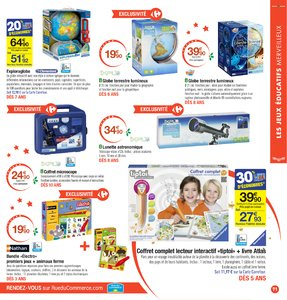 Catalogue Carrefour Noël 2017 page 71