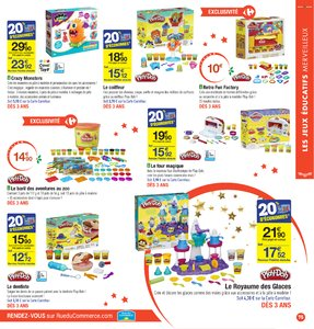 Catalogue Carrefour Noël 2017 page 75
