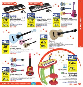 Catalogue Carrefour Noël 2017 page 81
