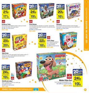 Catalogue Carrefour Noël 2017 page 85