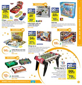 Catalogue Carrefour Noël 2017 page 93