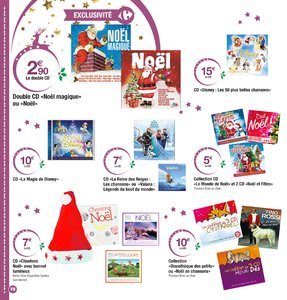 Catalogue Carrefour Noël 2017 page 98