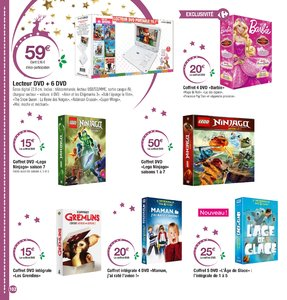 Catalogue Carrefour Noël 2017 page 102