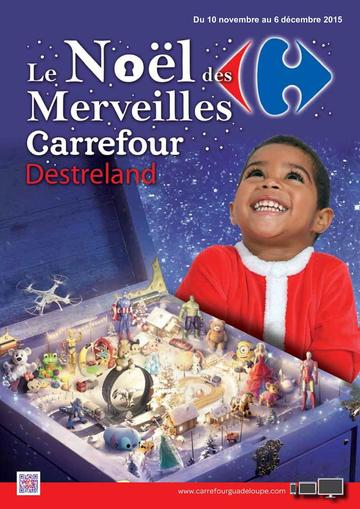 Catalogue Carrefour Guadeloupe Noël 2015