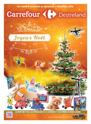 Catalogue Carrefour Guadeloupe Noël 2016