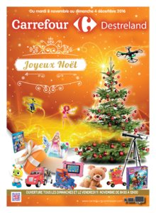 Catalogue Carrefour Guadeloupe Noël 2016 page 1