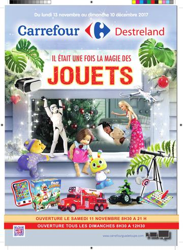 Catalogue Carrefour Guadeloupe Noël 2017