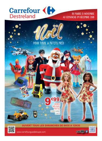 Catalogue Carrefour Guadeloupe Noël 2018