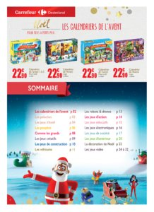 Catalogue Carrefour Guadeloupe Noël 2018 page 2