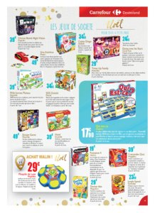Catalogue Carrefour Guadeloupe Noël 2018 page 19