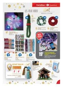 Catalogue Carrefour Guadeloupe Noël 2018 page 23