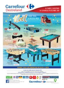 Catalogue Carrefour Guadeloupe Noël 2018 page 32