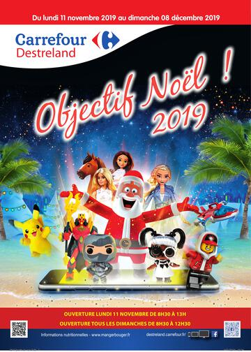 Catalogue Carrefour Guadeloupe Noël 2019