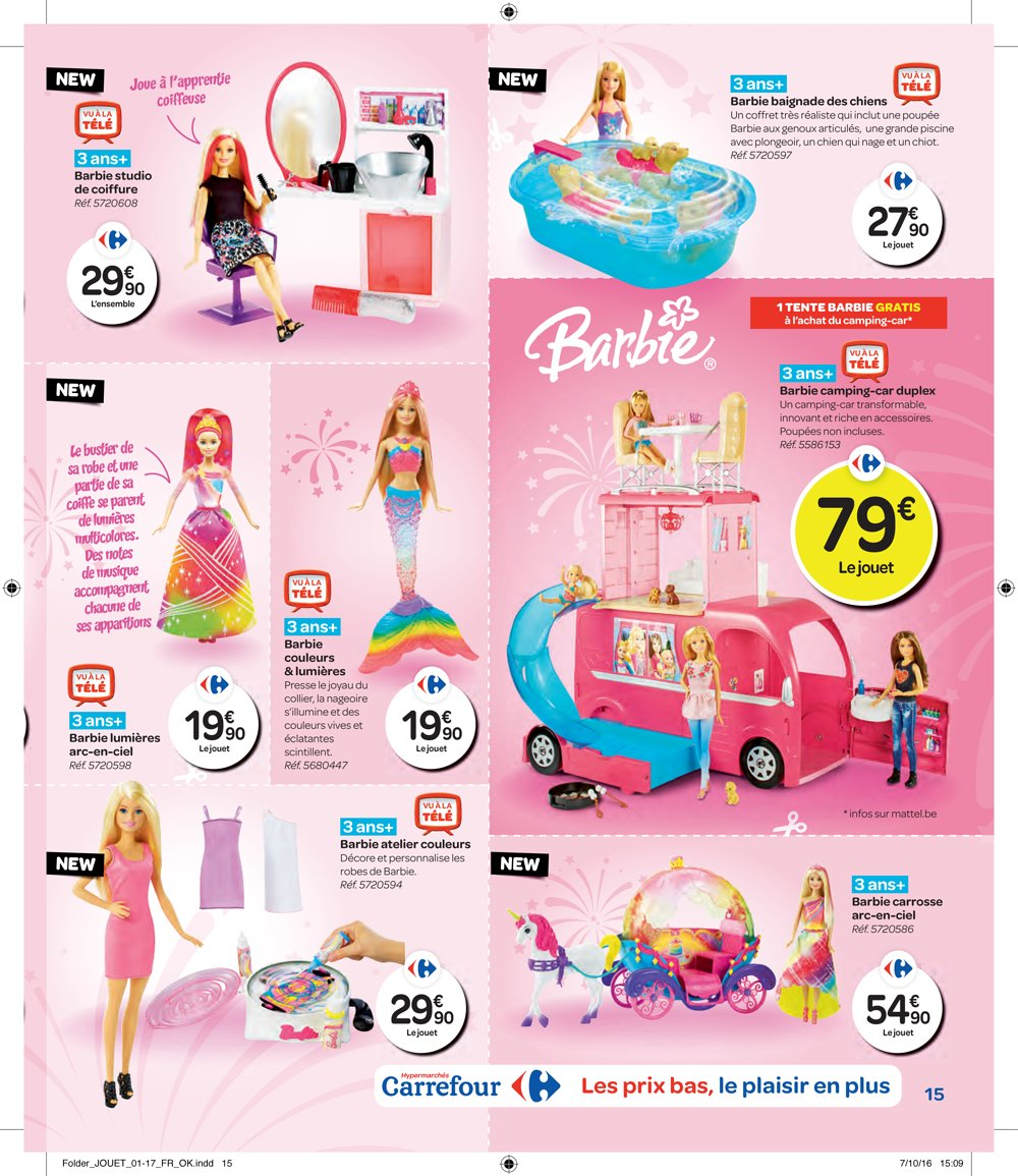 cheap prices well known great prices Catalogue Hypermarché Carrefour Belgique Noël 2016 ...