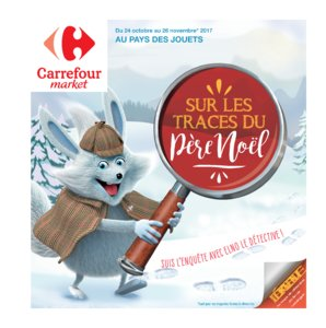 Catalogue Carrefour Market Noël 2017 page 1
