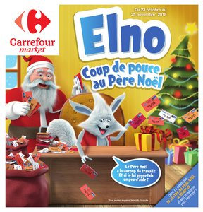 Catalogue Carrefour Market Noël 2018 page 1