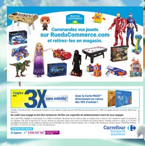 Catalogue Carrefour Market Noël 2018 page 60