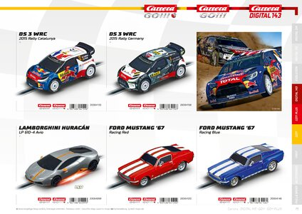 Catalogue Carrera Toys 2020 page 73