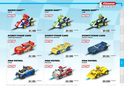 Catalogue Carrera Toys 2020 page 87