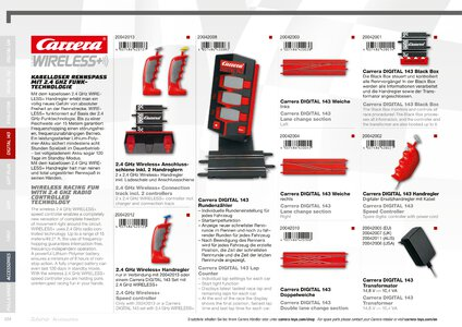 Catalogue Carrera Toys 2020 page 104