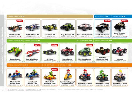 Catalogue Carrera Toys RC 2020 page 4
