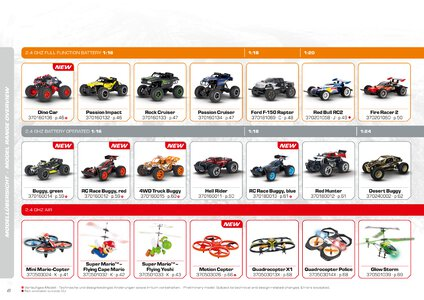 Catalogue Carrera Toys RC 2020 page 6