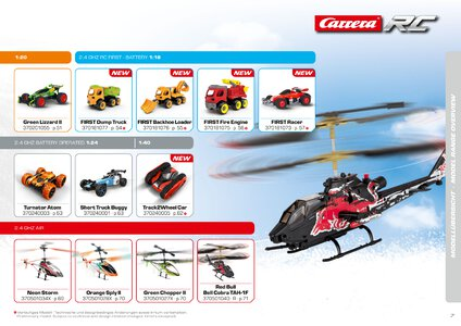 Catalogue Carrera Toys RC 2020 page 7