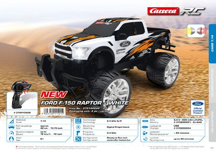 Catalogue Carrera Toys RC 2020 page 17