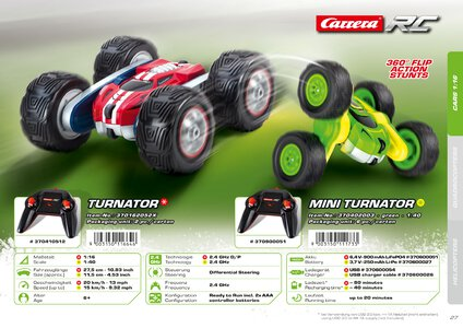 Catalogue Carrera Toys RC 2020 page 27