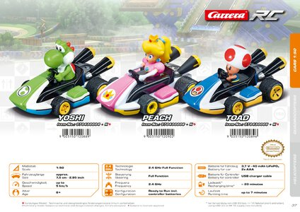 Catalogue Carrera Toys RC 2020 page 37