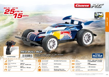 Catalogue Carrera Toys RC 2020 page 49
