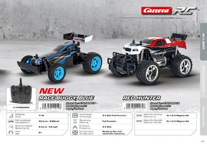 Catalogue Carrera Toys RC 2020 page 61