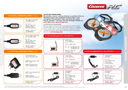 Catalogue Carrera Toys RC 2020 page 73