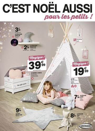 Catalogue Centrakor Noël 2017