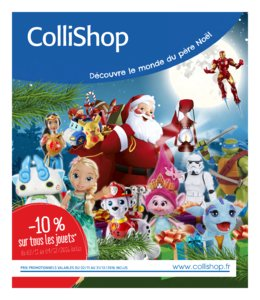 Catalogue Collishop Noël 2016 page 1