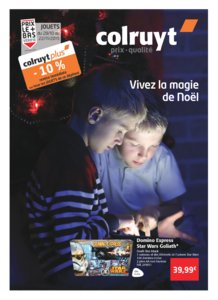 Catalogue Colruyt Noël 2015 page 1