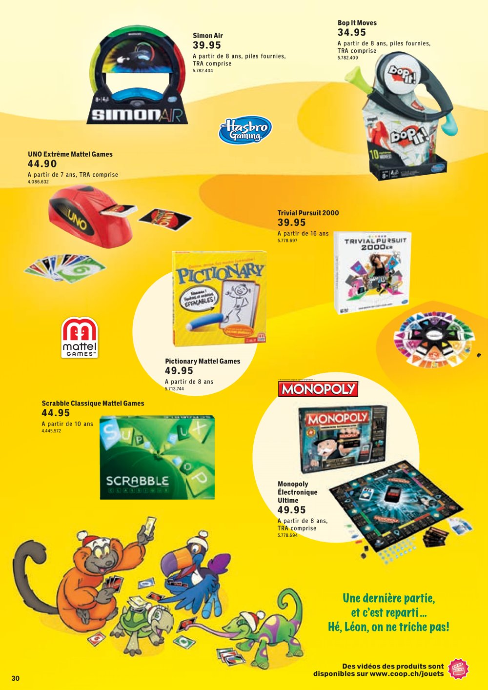 Catalogue coop suisse no l 2016 catalogue de jouets - Catalogue 3 suisses 2016 ...