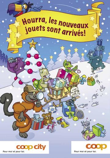 Catalogue Coop Suisse Noël 2017