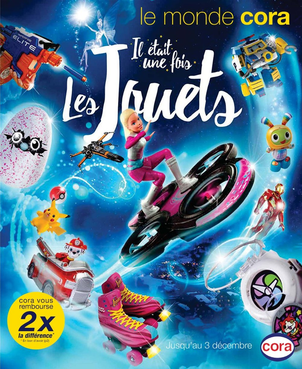Catalogue cora no l 2016 catalogue de jouets for Catalogue deco
