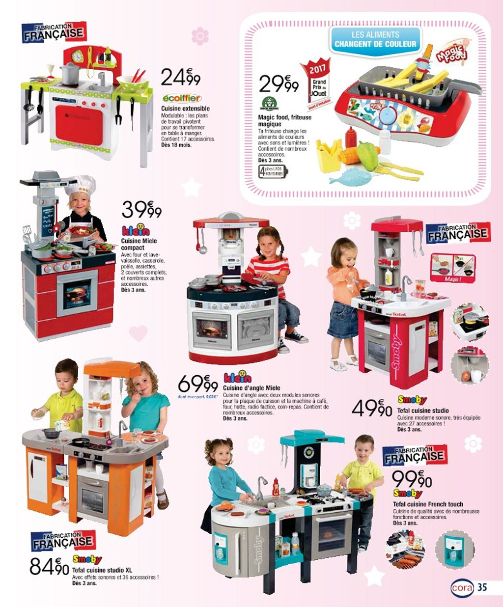 catalogue cora no l 2017 catalogue de jouets. Black Bedroom Furniture Sets. Home Design Ideas
